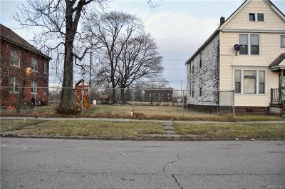 Detroit Residential Lots & Land For Sale: 4712 Mitchell Street