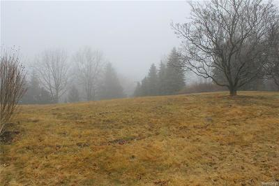 Bloomfield Twp MI Residential Lots & Land For Sale: $499,000