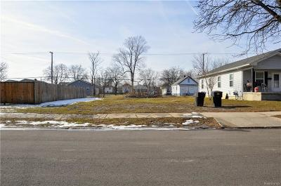 Detroit Residential Lots & Land For Sale: 4181 Lakepointe Street