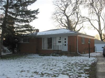 Livonia, Farmington, Farmington Hills, Northville Twp, Novi Single Family Home For Sale: 33757 Glenview Drive