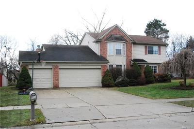 Garden City, Plymouth, Canton Twp, Livonia Single Family Home For Sale: 40465 Bluesprings Court