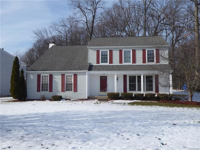 West Bloomfield, West Bloomfield Twp Single Family Home For Sale: 1708 Poppleton Drive