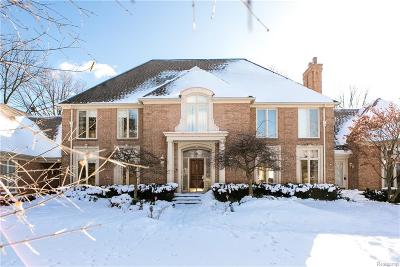 Bloomfield Twp MI Single Family Home For Sale: $1,445,000