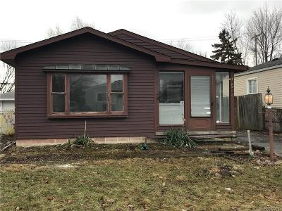 Oakland County, Macomb County Single Family Home For Sale: 19582 Nicke Street