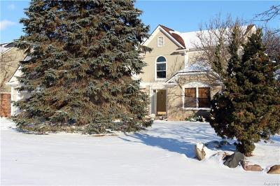 West Bloomfield Twp Single Family Home For Sale: 1775 Janet Drive