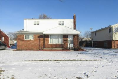 Oakland County, Macomb County, Wayne County Single Family Home For Sale: 3217 Dolores Avenue