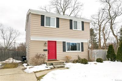 Royal Oak, Royal Oak Twp Single Family Home For Sale: 723 Cherry Avenue