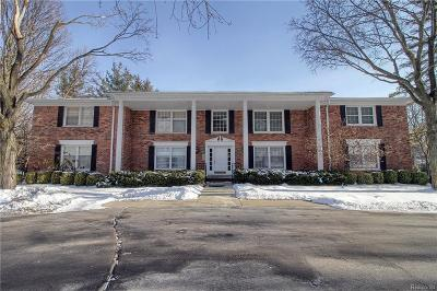 Bloomfield Hills Condo/Townhouse For Sale: 229 Barden Road
