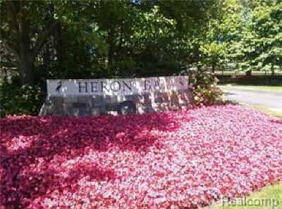 Bloomfield Twp Residential Lots & Land For Sale: 3026 Heron Pointe