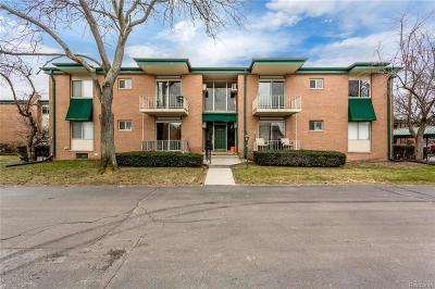 Troy Condo/Townhouse For Sale: 1968 Axtell Drive #7