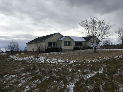 Milan Twp Single Family Home For Sale: 17995 Sherman Road