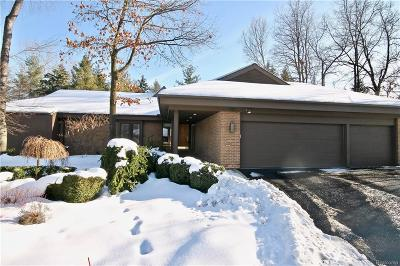 Bloomfield Twp Condo/Townhouse For Sale: 1151 Greensted Way