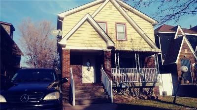 River Rouge MI Single Family Home For Sale: $37,900
