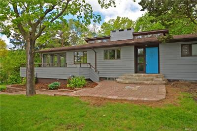 Bloomfield Twp Single Family Home For Sale: 5151 N Adams Road