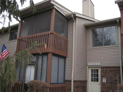 Grosse Ile, Gross Ile, Grosse Ile Twp Condo/Townhouse For Sale: 10244 Nancys Boulevard