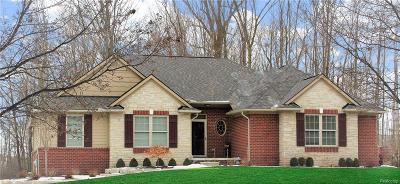 Oxford Single Family Home For Sale: 1019 Wood Trail