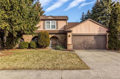 Fraser Single Family Home For Sale: 15893 Kingston Drive