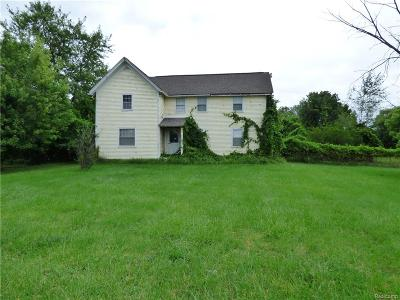 Auburn Hills Single Family Home For Sale: 2811 Pontiac Road