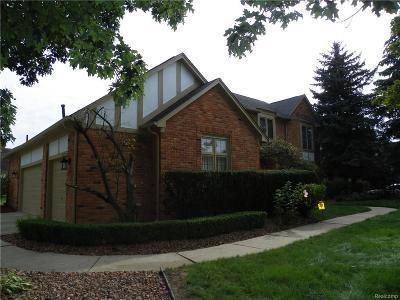 Troy Single Family Home For Sale: 1769 Hallmark Drive