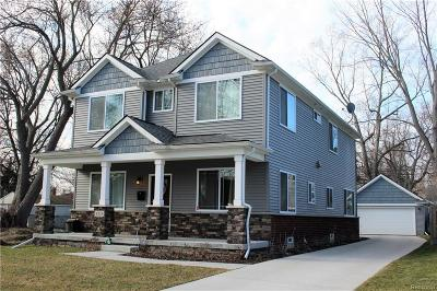 Royal Oak Single Family Home For Sale: 4513 Tonawanda Avenue