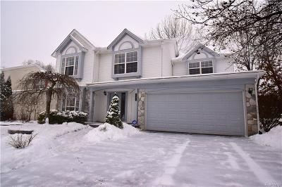 Oxford, Oxford Twp, Oxford Vlg Single Family Home For Sale: 1091 Woodbriar Drive