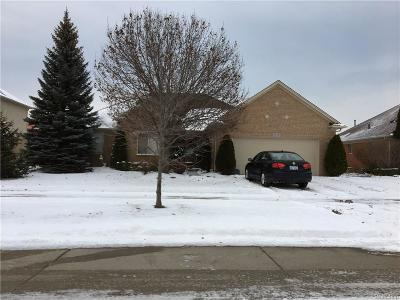 Macomb Twp MI Single Family Home For Sale: $278,900