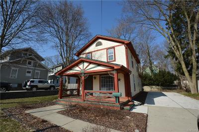 Northville Single Family Home For Sale: 307 N Center Street