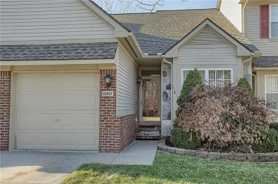 Novi Condo/Townhouse For Sale: 31017 Blueridge Drive