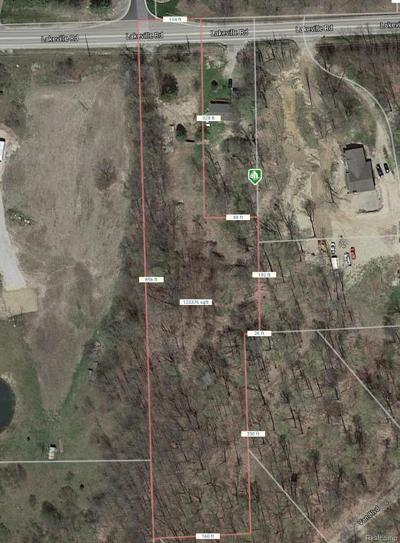 Addison Twp Residential Lots & Land For Sale: 1741 Lakeville