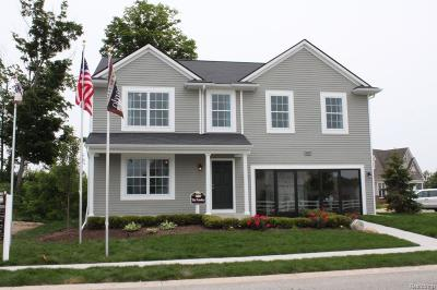 Plymouth Single Family Home For Sale: Joy Road