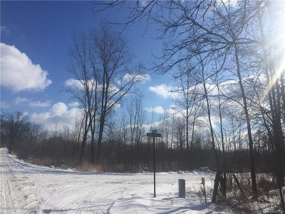Addison Twp Residential Lots & Land For Sale: E Leonard Road
