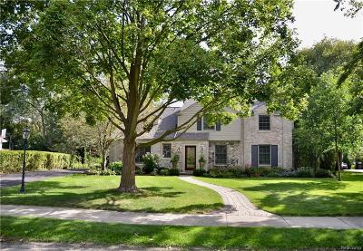 Bloomfield Twp Single Family Home For Sale: 454 Yarmouth Road