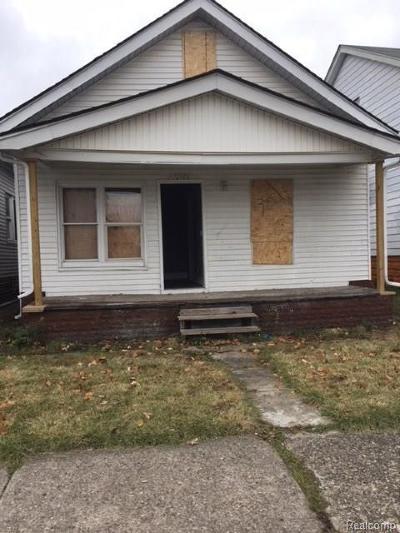 Hamtramck Single Family Home For Sale: 12169 Fleming Street