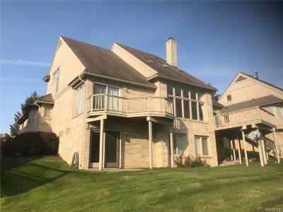 Farmington Hills Condo/Townhouse For Sale: 38319 Golfview