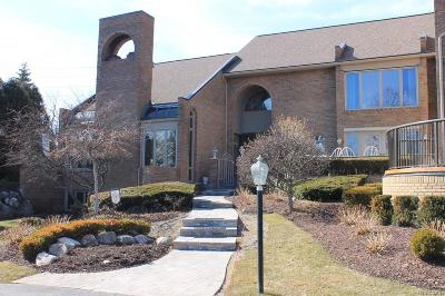 West Bloomfield, West Bloomfield Twp Condo/Townhouse For Sale: 3840 Pine Lake Knoll