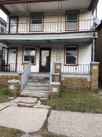 Hamtramck Multi Family Home For Sale: 9506 Charest Street