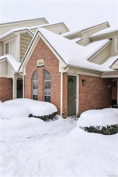 South Lyon Rental For Rent: 209 Maplewood Court