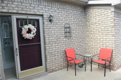 Washington Twp Condo/Townhouse For Sale: 59115 Poplar Court