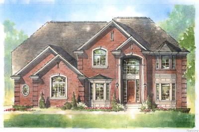 Rochester Hills, Rochester Single Family Home For Sale: 875 Majestic
