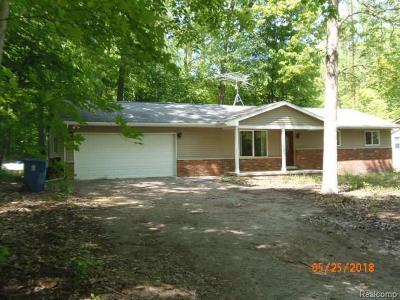 Brighton Single Family Home For Sale: 8105 McClements Road