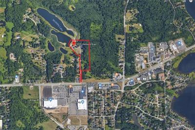 White Lake Twp Commercial For Sale: 10770 Highland Road