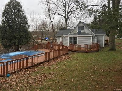 Single Family Home For Sale: 2650 Parklawn Drive