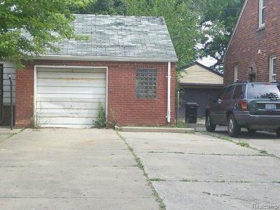 Detroit Residential Lots & Land For Sale: 16669 Carlisle Street