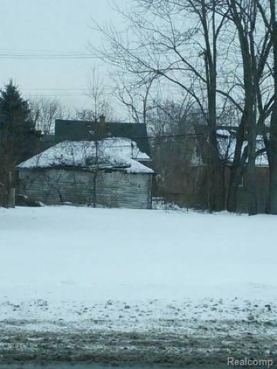 Detroit Residential Lots & Land For Sale: 11696 Meyers Road