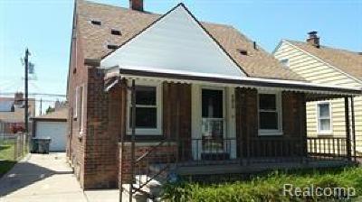 Dearborn Single Family Home For Sale: 4873 Rosalie Street