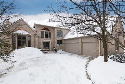 Rochester Hills Single Family Home For Sale: 3673 Merriweather Lane