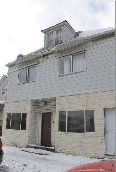 Hamtramck Single Family Home For Sale: 9601 Gallagher Street