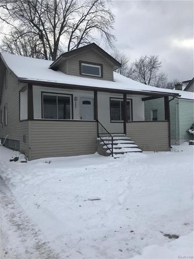 Ferndale Single Family Home For Sale: 550 E Marshall