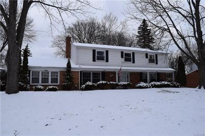 Farmington Hills Single Family Home For Sale: 29998 Barwell Road