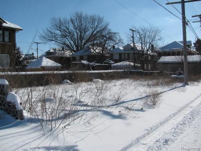 Detroit Residential Lots & Land For Sale: 289 Worcester Pl
